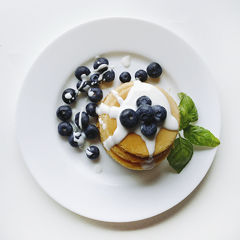Blueberry pancakes picture